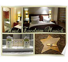 Hotel Excelsior Munich Poster