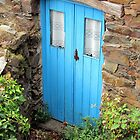 Blue cottage door by juliedawnfox