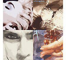 Madonna Pop Art Photographic Print