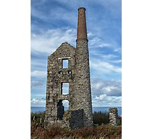 Carn Galver Mine, Cornwall Photographic Print