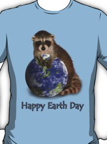 Happy Earth Day Raccoon T-Shirt