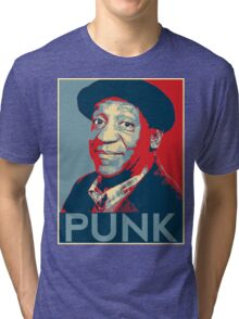 "Bill Cosby ""PUNK"" hope poster Tri-blend T-Shirt"