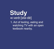 Funny Definition of Study Unisex T-Shirt