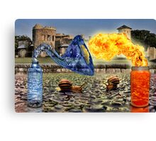 Spicy Water Canvas Print