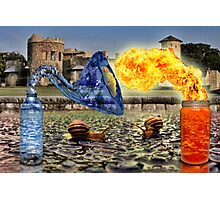 Spicy Water Photographic Print