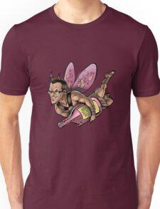 SheVibe Presents The Sliquid Dean Sprite - Pink Unisex T-Shirt