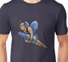 SheVibe Presents The Sliquid Dean Sprite - Blue Unisex T-Shirt