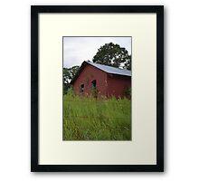 The Red Shack # 1 Framed Print