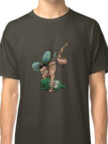 SheVibe Presents The Sliquid Dean Sprite - Green Classic T-Shirt