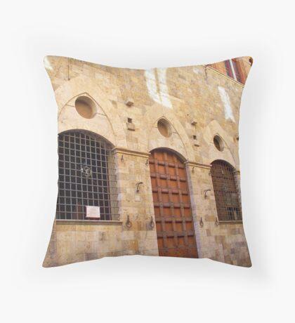 Siena, Italy Throw Pillow