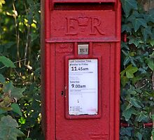 Royal Mail Post Box by lynn carter