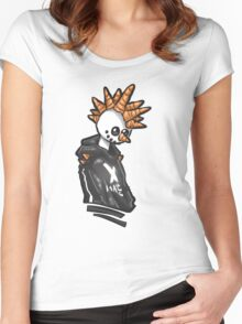 The Holiday Homie, Snow Punk! Women's Fitted Scoop T-Shirt