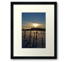 Minnesota in February # 4 Framed Print