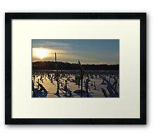 Minnesota in February # 6 Framed Print