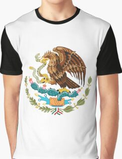 Flag of Mexico Graphic T-Shirt