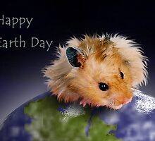 Happy Earth Day Hamster by jkartlife