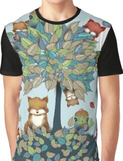 The Friendship Tree Graphic T-Shirt