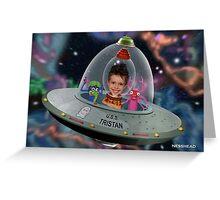 Spud In Space Greeting Card