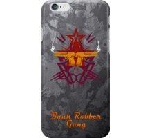 Bank Robber Gang V2 iPhone Case/Skin