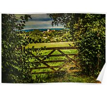 I Love To Walk In the English Countryside Poster