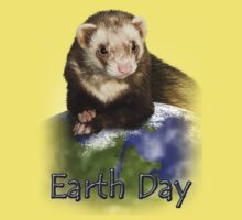 Earth Day Ferret Kids Clothes