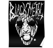 Black Metal Corpse Poster