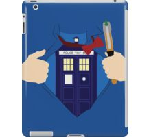 Truth, Justice and... Doctor Who? iPad Case/Skin