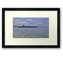 Aircraft Carrier Framed Print