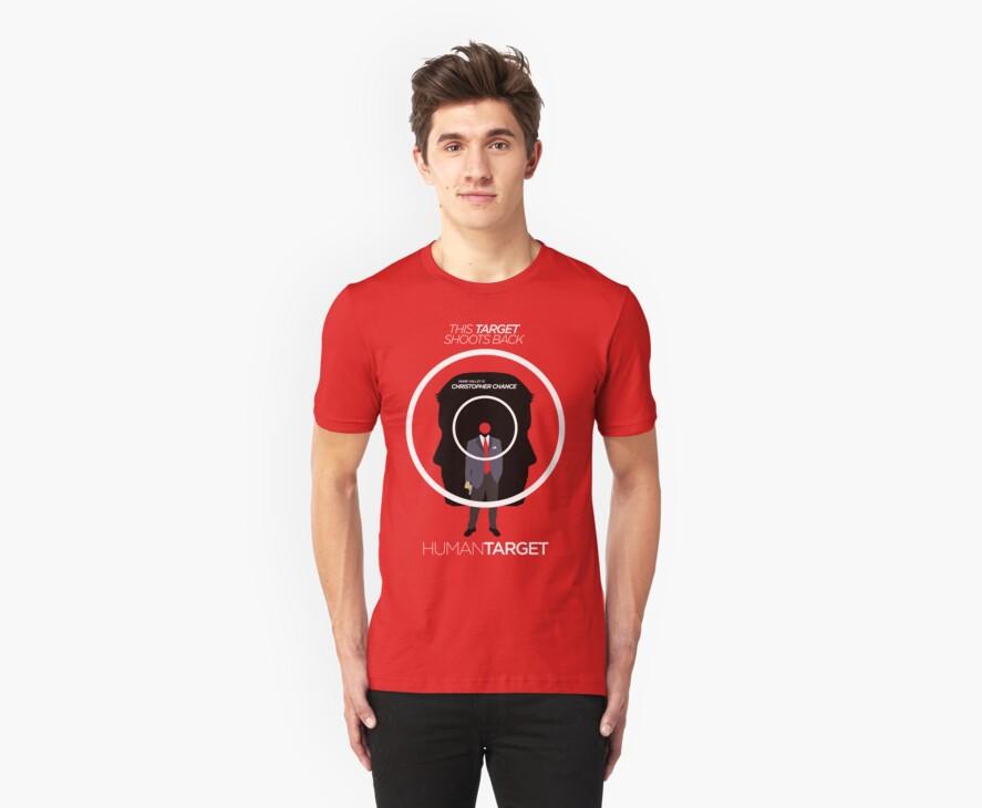 Human Target - Christopher Chance TV/Comic Minimalist Shirt by BenFraternale