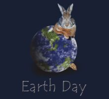 Earth Day Bunny Rabbit Kids Clothes