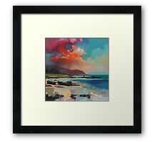 Rum From South Uist Framed Print