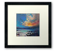 Blustery Sky Framed Print