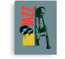 A jazz-O-logy affiche Canvas Print