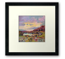 Arran from The Kyles of Bute Framed Print