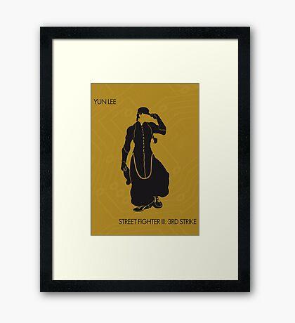 Yun Framed Print