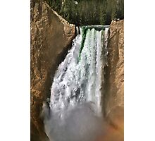 Yellowstone River At  The Lower Falls 2 Photographic Print