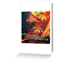 pirates Greeting Card