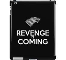 House Stark Revenge Is Coming iPad Case/Skin