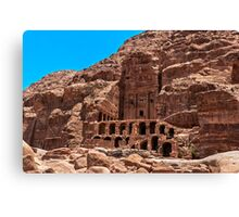 Royal Tomb (Urn Tomb3). Canvas Print
