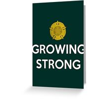 House Tyrell Growing Strong Greeting Card