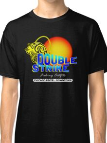 Double Strike Chicago River - Downtown Classic T-Shirt