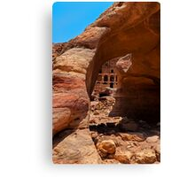 Royal Tomb (Urn Tomb4). Canvas Print
