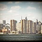 Vintage New York Skyline by Andrew Wilson