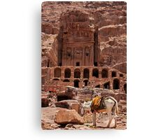 Royal Tomb (Urn Tomb5). Canvas Print