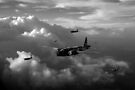 Vickers Wellingtons black and white version by Gary Eason