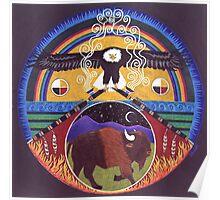 Eagle & Buffalo Poster