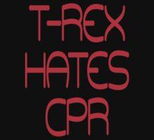 T-Rex hates CPR by SlubberBub