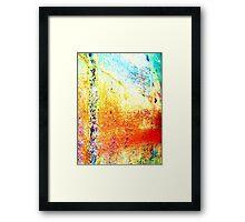 Unique Digital Abstract Art Framed Print