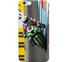 Mark Aitchison at Laguna Seca 2013 iPhone Case/Skin