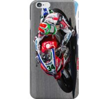 Davide Giugliano at Laguna Seca 2013 iPhone Case/Skin
